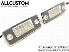 LED LUZ LUCES ILUMINACION PLACA MATRICULA BLANCO POTENTE para AUDI A8 D3 2002-10