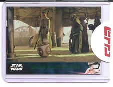 TOPPS STAR WARS THE FORCE AWAKENS SERIES 2 UNKAR PLUTT'S OFFER #28 GREEN MINT