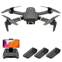 FPV RC Quadcopter Drone with 4K HD WIFI Dual Camera Headless Mode Gravity Mode