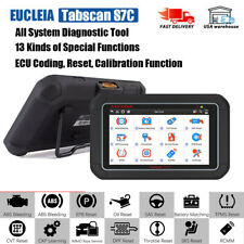 All System OBD2 Tablet Scanner ABS EPB DPF CKP Learning Coding Diagnostic Tool