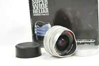 Voigtlander SUPER WIDE HELIAR 15mm F4.5 aspherical Leica LTM/L39 mount