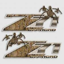 Duck Hunting Truck Decal Set - Camouflage Max Grass for Z71 Off Road GMC