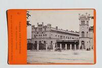 31827CDV Foto De Christmann Berlín Um 1870-1880 Leipzig Magdeburg Estación