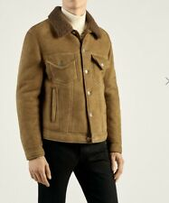 Dunhill Shearling Jacket Trucker 100% Lamb Skin Medium RRP £2695 AMAZING