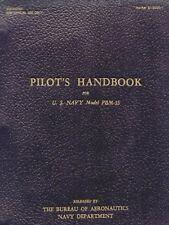 MARTIN PBM-3S MARINER - US NAVY PILOTS HANDBOOK NAVAER  01-35QG-1