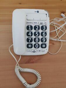 BT Big Button 200 v2 Corded Telephone Handsfree Speaker Landline Home Phone Loud