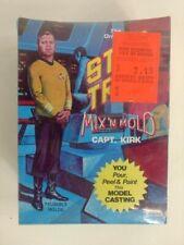 1970'S VINTAGE STAR TREK MIX N MOLD Captain Kirk Factory Sealed Box
