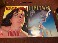 Wonder Woman Spirit of Truth Hardcover And Superman Peace On Earth Dc Comics