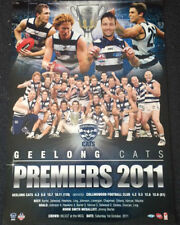 GEELONG CATS 2011 PREMIERS GRAND FINAL AFL POSTER BARTEL SELWOOD HAWKINS LING