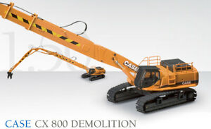 Case CX800 Demolition Excavator - Conrad 1:50 Scale Diecast Model #2923/0 New!