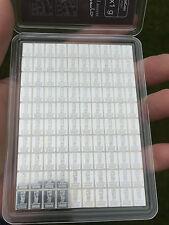 100 x 1 Gramm 999 Silber Feinsilber Silberbarren Cook Island Valcambi