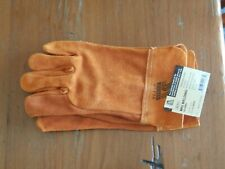 New Listingsteiner 0213 X Unlined Cowhide Leather Mig Welding Work Gloves Size X Large