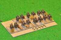10mm colonial / british - n.w. frontier regiment 14 figs - cav (55949)