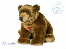 Sitting Grizzly Bear by Teddy Hermann from Lincrafts. 91051. 50 cm