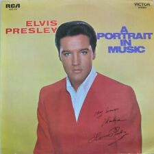 ELVIS PRESLEY - A PORTRAIT IN MUSIC  -  LP