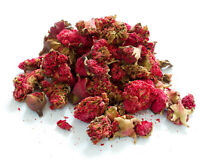 Dried Pomegranate Flower Whole, Red Flowers Craft Soap Resin Candle Tea Making