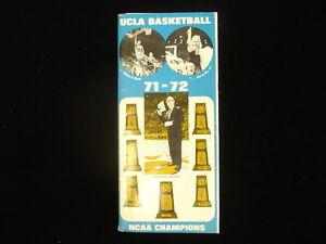 1971-72 UCLA Bruins Basketball Media Guide
