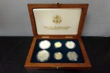 1995 CIVIL WAR BATTLEFIELD COMMEMORATIVE COINS GOLD & SILVER SET