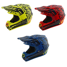 Troy Lee Designs SE4 Factory Polyacrylite  MIPS Adult Helmet