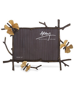 Michael Aram Butterfly Ginkgo 5 x 7 Picture Frame