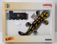 Märklin H0 48806 Güterwagen mit Steiff Salamander Edition - NEU NEW unbespielt