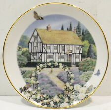 Tunder Rose Cottage by Peter Banett - The Franklin Mint Heirloom Collection
