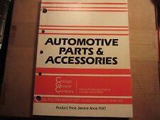 1985 Chicago General auto parts catalog