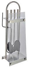 5-Tg. Kaminbesteck Kaminwerkzeug Kamingarnitur Kaminset Ofenbesteck Ofengarnitur