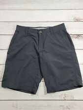 Under Armour Men's Size 34 Waist Black Casual Shorts O6