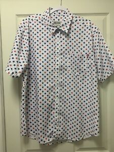 The Roosevelts RSVLTS Betsy Stars Shirt XL Extra Large