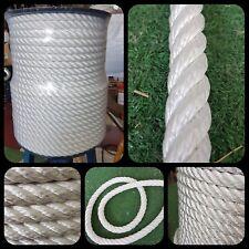 Corde cordage nylon alta ténacité 16mm x 100 mètres fonds amarrage grappin