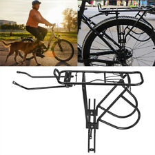 60KG Bike Rear Rack Seat Luggage Carrier Bicycle Pannier Cycling Aluminum Alloy