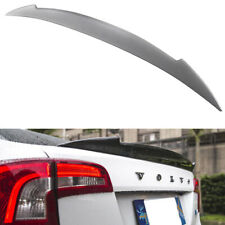 Painted For Volvo S60 T4 T5 T6 D3 D4 V Look Rear Trunk Spoiler Wing 2011-2018
