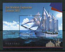 Poland 2017 MNH Szczecin Grand Sailors Rally 1v M/S Sailing Boats Ships Stamps