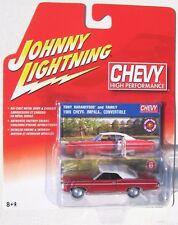 JOHNNY LIGHTNING CHEVY HIGH PERFORMANCE 1969 IMPALA CONVERTIBLE TOP UP #6