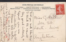 Genealogy Postcard - Family History - Guttall or Gittall - Louth - Lincs  BH5389