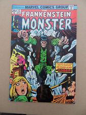 Frankenstein 12 . Marvel 1974 . VF