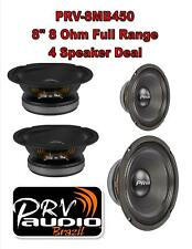 """PRV Audio 8MB450 8"""" Midbass Woofer 8 ohms 1800 Watts 96 dB 2"""" Voice Coil 2 PAIR"""