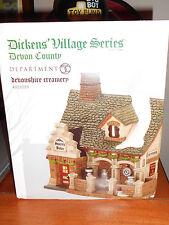 Dept 56 Dickens' Village Devonshire Creamery Nib