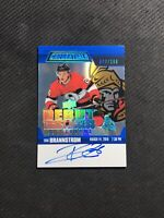 2019-20 UD CREDENTIAL ERIK BRANNSTROM ROOKIE DEBUT TICKET ACCESS AUTO #ed 42/299