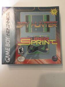 Spy Hunter + Super Sprint - Gameboy Advance new
