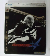 Jeu Playstation PS3 - Devil May Cry 4 Collector's Edition steelbook - Complet
