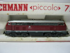 Fleischmann N 7235 Diesel Lok BR 210 002-2 DB Altrot (RG/BR/48S2)