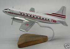 M-404 TWA Martin M404 Airplane Desktop Kiln Dry Wood Model Free Shipping New