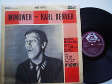 "Wimoweh 12"" Lp  - Karl Denver Decca ACL1098 1961"