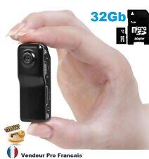 Micro Caméra et Appareil Photo Numérique Sport Espion Ski Velo Moto Voiture 32GB