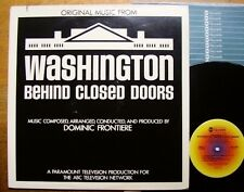 DOMINIC FRONTIERE-Washington-Behind Closed Doors USA 1977 + OIS OST Top Comme neuf