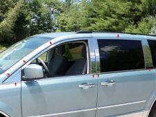 2008-2012 DODGE GRAND CARAVAN 16PC STAINLESS STEEL WINDOW TRIM KIT
