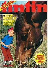 B18- Tintin N°306 Le Dossier Cheval +poster,Jonathan
