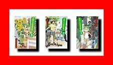 ☆RARE Yotsuba&! MANGA ENGLISH VOLS 1 2 3 ANIME COMIC BOOK LOT SET YOTSUBA SHOJO☆